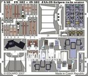 49382 Eduard 1/48 Фототравление для JAS-39D Gripen double seater S.A.
