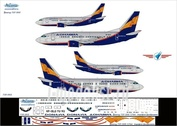 735-001 Ascensio 1/144 Декаль на самолет боенг 737-500 (Трансэро)