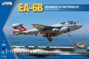 K48044 Kinetic 1/48 Grumman EA-6B Prowler EA-6B With three-wheel tractor A/S32A-32