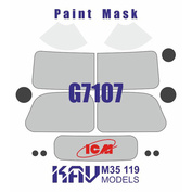 M35 119 KAV Models 1/35 Окрасочная маска для G7107 (ICM)