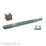 im35019 Imodelist 1/35 Советская торпеда 53-38, калибр 533, на тележке