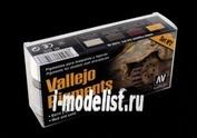 73197 Vallejo Набор пигментов грязь и песок