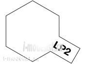 82102 Tamiya LP-2 White (Белая глянцевая) Лаковая краска 10мл.