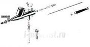 NZ-05 АЭРО-ПРО Сопло 0,5мм для Аэро-про 575/577