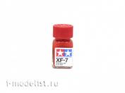 80307 Tamiya XF-7 Flat Red (matte Red) Enamel paint