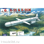72127 Amodel 1/72 Cruise missile X-55& X-55M (AS-15-15