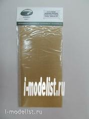 AH0050 Aurora Hobby Сетка латунная плетеная, ячейка 0,10 мм 10х20 см