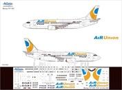 733-002 Ascensio 1/144 Декаль на самолет боенг 737-300 (Ar Unon)