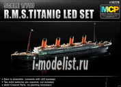 14220 Academy 1/700 Kорабль  R.M.S. TITANIC + LED SET