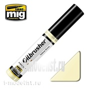 AMIG3521 Ammo Mig YELLOW BONE (Oil paint with thin brush applicator)