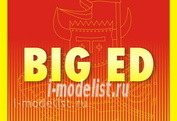 BIG4960 Eduard 1/48 a Complete set of photo-etched parts for the MiG-21MF