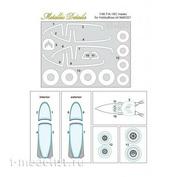 MDM4801 Metallic Details 1/48 Маски для F/A-18C