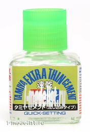 87182 Tamiya Glue Extra Thin (Quick-Setting), 40 ml.