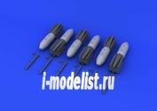 672059 Eduard 1/72 Дополнение к модели M117 bombs w/airbrake