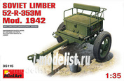 35115 MiniArt 1/35 Soviet Artillery Front 52-P-353M Mod. One thousand nine hundred forty two