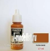 70341 Vallejo acrylic Paint `Panzer Aces` Nude-basic / Flesh Base