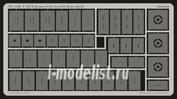 XL520 Eduard 1/32 Маска для F-16 etch stencil data mask