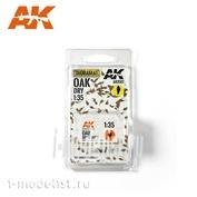 AK8107 AK Interactive 1/35 Сухие листья северного красного дуба