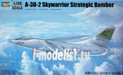 02868 Самолет Trumpeter  1/48 A-3D-2 Skywarrior Strategic Bomber