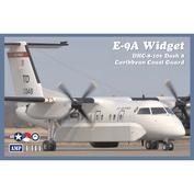 144-003 AMP 1/144 surveillance Aircraft E-9A Widget/DHC-8-106 Dash 8 (Caribbean coast guard)