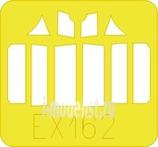 EX162 Eduard 1/48 Маска для F3F