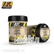 AK8021 AK Interactive Terrains Light Earth 250ml (Светлая земля)