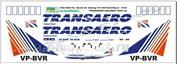 pas025 PasDecals 1/144 Декали Боинг 747-400 RR Тransaero