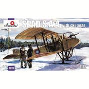 Amodel 7273 1/72 Spad S. A. 4 with ski landing gear