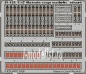 49428 Eduard 1/48 Фототравление для C-47 Skytrain cargo seatbelts