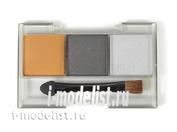 87085 Tamiya Набор пигментов C (ржавчина, вороненная сталь и серебро)