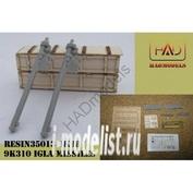 135013 HADmodels 1/35 IGLA Missiles and original wood box