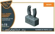 CPA72014 Clear Prop! 1/72 Выхлопные патрубки для Ла-5 Лавочкин