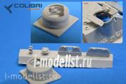 R72009 ColibriDecals 1/72 Смолянные наборы дополнений Командирская башня Су-100 открытая (ZVEZDA)