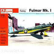 AZ7565 AZ Model 1/72 British Naval Fighter Fairey Fulmar Mk.I
