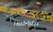 1327 Italeri 1/72 PSP Pierced Steel Planking and accessories (аксессуары аэродрома)