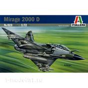 023 Italeri 1/72 Самолёт Mirage 2000 D/N