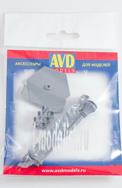 AVD143001801 AVD Models 1/43 Светофор, 1 шт.