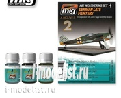 AMIG7415 Ammo Mig GERMAN LATE FIGHTERS (German fighters)