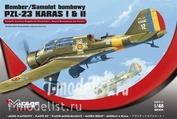 481304 Mirage Hobby 1/48 BOMBER PZL-23 KARAS I & II