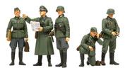 35298 Tamiya 1/35 Немецкие полевые командиры (5 фигур)