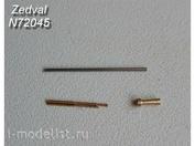 N72045 Zedval 1/72 set of parts for T-30, T-60