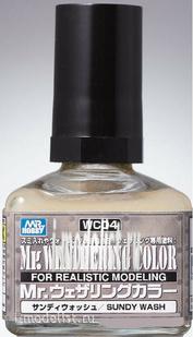 WC04 Gunze Sangyo Смывка MR.WEATHERING Color - Sundy Wash