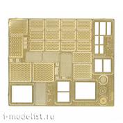 035403 Микродизайн 1/35 Набор фототравления профнастилов и сеток на 9К330 ТОР (Panda)