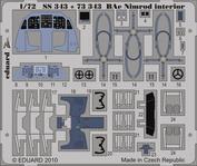 SS343 Eduard 1/72 Цветное фототравление для Nimrod interior.