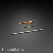 Im35021 Imodelist 1/35 Set of barrels and antenna