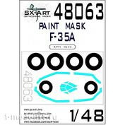 48063 SX-Art 1/48 Paint Mask F-35A (Kitty Hawk)
