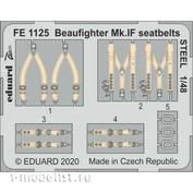 FE1125 Eduard 1/48 Фототравление для Beaufighter Mk. IF, ремни, сталь