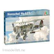 2819 Italeri 1/48 Самолёт Henschel Hs 123
