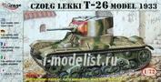 72609 Mirage Hobby 1/72 T-26 model 1933 light tank