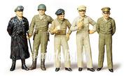 35118 Tamiya 1/35 Знаменитые генералы 2-й мировой войны: Patton, Eisenhower, Macarthur, Montgomery, фельдмаршал Роммель